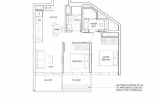 Type B1 2 Bedroom
