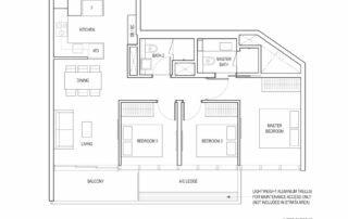 Type C1 3 Bedroom