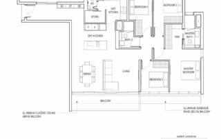 Type D1 4 Bedroom