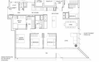 Type E1_PES 5 Bedroom